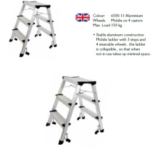 Factory Supplier Step Ladder Aluminum Folding Step Stool Ladders