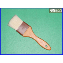 Spb-002 White Bristle Wooden Handle Pastry Brush