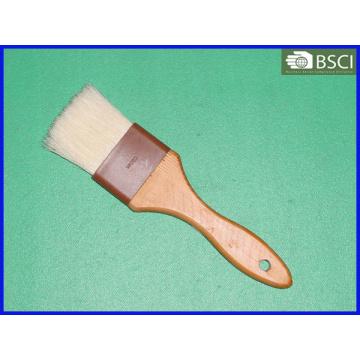 Spb-002 White Bristle Wooden Handle Pastry Brush