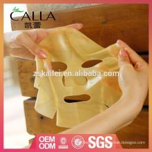 Manufactura de máscara facial de colágeno al por mayor con buen precio