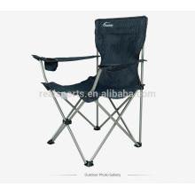Mobília ao ar livre uso geral e cadeira de jardim uso específico ao ar livre cadeiras dobráveis / cadeira de acampamento com suporte de copo
