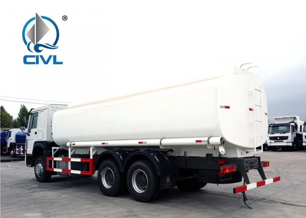 Howo 6x4 Fuel Tanker Truck 16