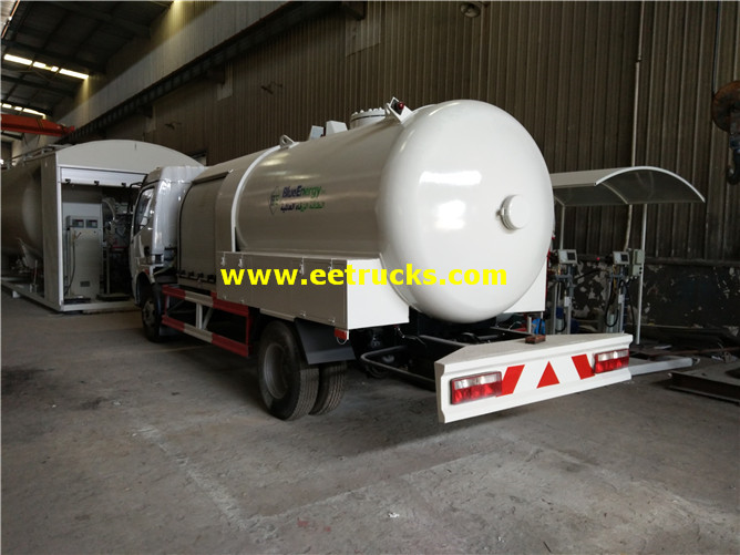 LPG Dispensing Tanker Trucks