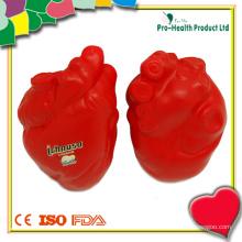 Coração em forma de espremer Stress Ball Wholesale