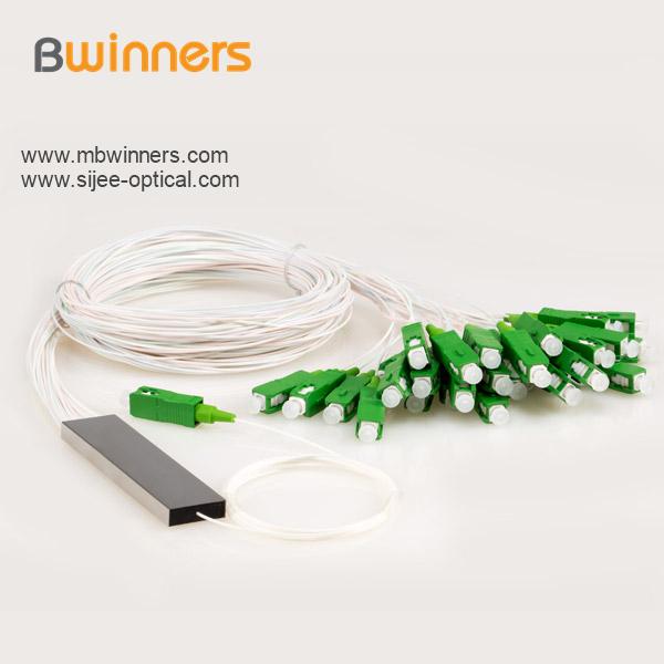 Micro Type 1x32 Plc Splitter With Sc Apc Connector