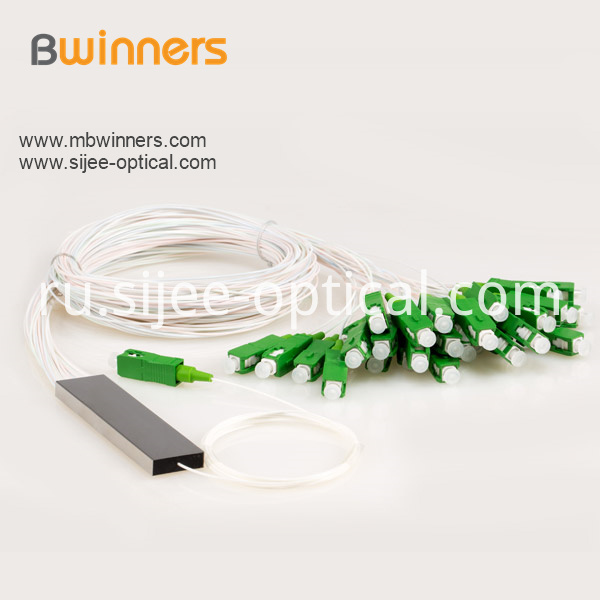 Micro Type 1x32 Plc Splitter With Sc Apc Connector