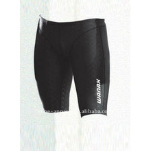 Latest black compression swim jammer men wholesale