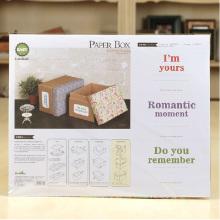DIY Corrugado Papel Gift Box Kit