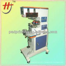 HP-160BY Pneumatic 2 couleurs tige à encre tissu imprimé tampon imprimante