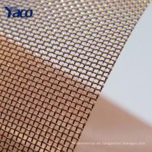 tela de cobre del precio de la promoción, cerca de malla de alambre de cobre, tela de protección del emi