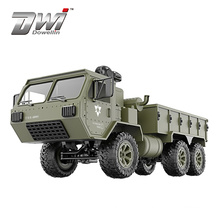 DWI  NEW  Full Body 1:16 Mini 2.4GHz RC 6WD Tracked Off-Road Military Truck Car Toy