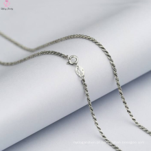 Atacado fantasia prata esterlina correntes jóias modelos