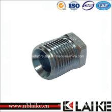 CNC Manufactured Carbon Steel Rubber Hose Female Plug (4N)
