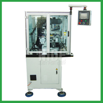 Automatic armature commutator hook welding machine