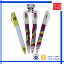 Useful gift for Christmas led light ballpoint pen