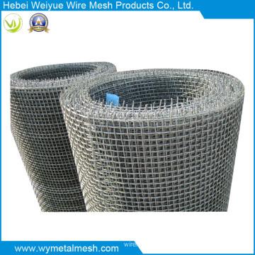 Acero inoxidable / Malla de alambre prensada galvanizada / Minería Malla de alambre prensada