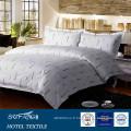 200TC lettre imprimé coton linge de lit hôtel literie