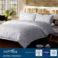 200TC letter printed cotton bed linen hotel bedding