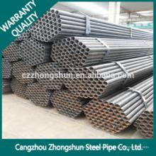 Tubo de acero laminado en frío / Q235 Q345 Erw Tubo de acero al carbono