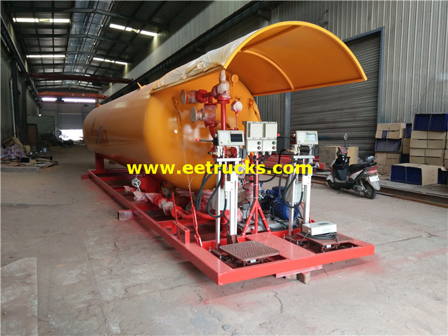 20ton Propane Cylinder Filling Stations