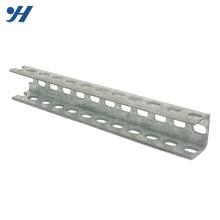 Aço de dobra frio que estrutura a canaleta de aço perfurada de suspensão de U