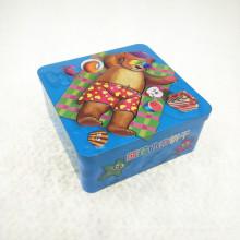Venta al por mayor de Metal Cookie Tin Container Packaging