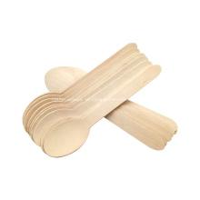 Cubiertos de madera de los utensilios de madera desechables de Birchwood