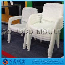 TaiZhou cheap price plastic high back chair mould