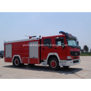 8T HOWO Water and Foam Fire Vehicle