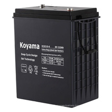 High Capacity 6V Deep Cycle Gel Battery 310ah