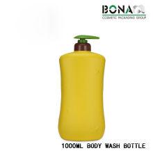 High Quality 1L PE Bottle Body Wash Bottle