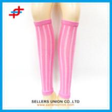 Chaussettes de sport à genoux, chaudière à manche de compression
