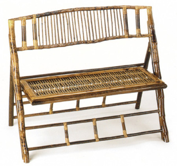 Long bamboo sofa Folding bamboo chairs