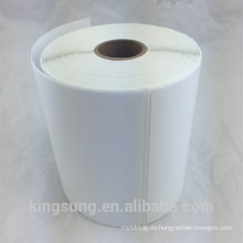Etiqueta compatible cebra de papel térmico de 4 * 6 pulgadas