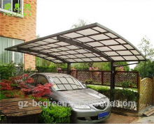 larger kids polycarbonate covering canvas outdoor high snow load carport canopy