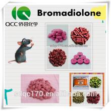 Rat Killer Bromadiolone 98% TC 0,005% Cepo de cera CAS 28772-56-7