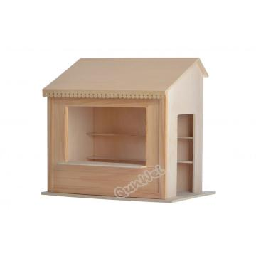 Wooden playhouse furniture custom dollhouse