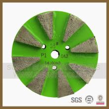 Piso de diamante moagem de placas de concreto (SYYH-07)