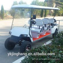 8passenger benzin sightseeing car / golfwagen mit zwei zurück zu sitze