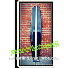 surfboard made in china paino design dark blue color longboard 8'8!~~