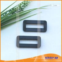 Tamaño interior 25 mm hebillas de plástico, regulador de plástico KR5014