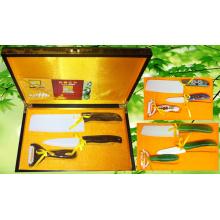 Ensemble de couteau en céramique 3PC (KP-003)