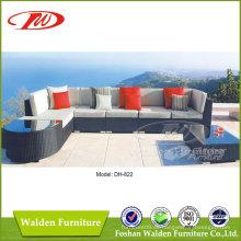 Rattan Möbel Außenliege Sofa (DH-822)