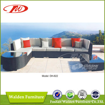 Rattan Furniture Outdoor Lounger Sofa (DH-822)