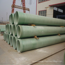Fiber Reinforced Epoxy GRP/FRP pipe For Sewer and Drainage