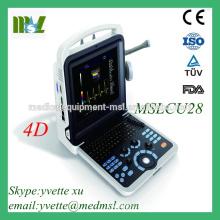 MSLCU28-M Good Price Protable Doppler couleur Échographie Full Digital Diagnostical System avec écran LCD 12 pouces