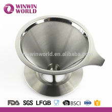 Fabricante de accesorios de café # 304 acero inoxidable 4 taza de café cuchara de goteo