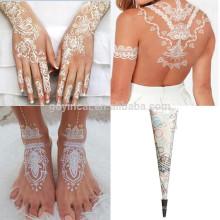 Gefälschte Tätowierung der Art und Weisebrautentwurf, kundenspezifischer Tätowierungaufkleber für Hochzeit