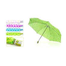 Thin Compact Auto Open&Close Print Umbrella (YS-3FD21083018R)