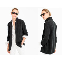 Ladi Open-Front Sweater Loose Jacket
